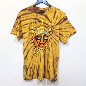 Sublime Long Beach Tie Dye SS Band Tee Shirt UO